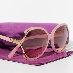 Gucci Light Pink Sunglasses